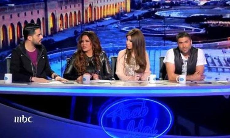 """أطرف اللقطات فى """"Arab Idol"""""""
