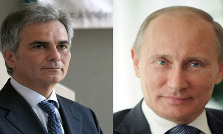 بوتين يقترح أن تستضيف فيينا محادثات السلام الأوكرانية