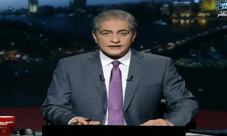 بالفيديو .. أسامة كمال ينهار من البكاء على الهواء ويخرج لفاصل