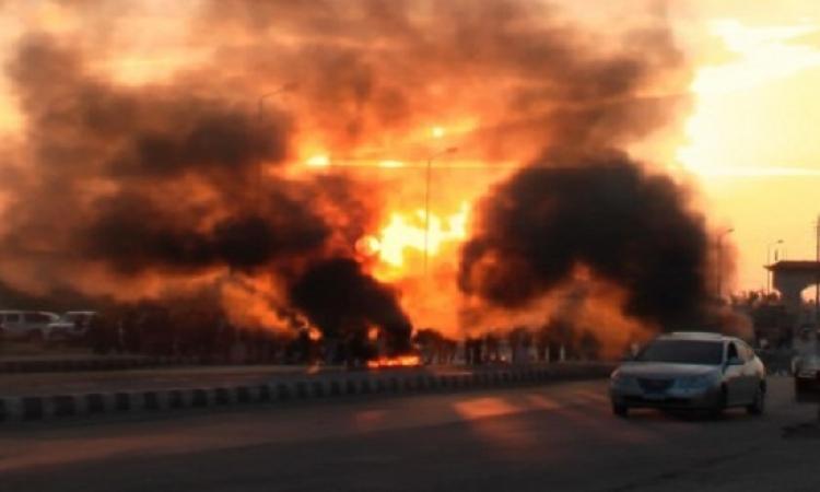 مصرع 4  أثناء تفجيرهم خزان مياه مهجور بالشيخ زويد