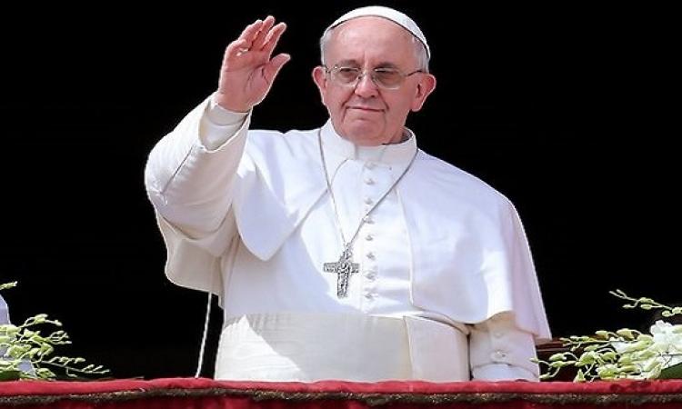 بابا الفاتيكان : يتعين ألا يهدد تدفق اللاجئين القيم الأوروبية