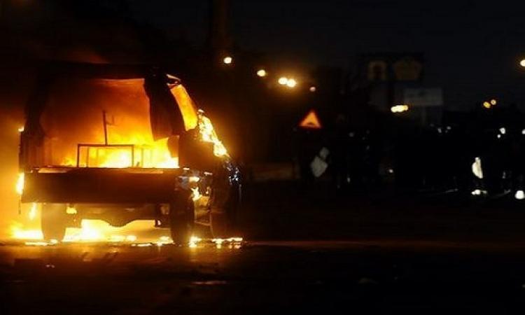 إصابة ضابطين و4 مجندين في انفجار عبوتين بالعريش