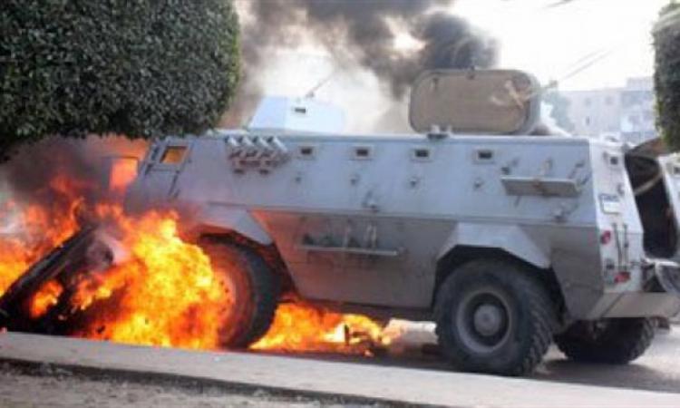 استشهاد عميد شرطة وإصابة آخر فى انفجار عبوة ناسفة بسيناء