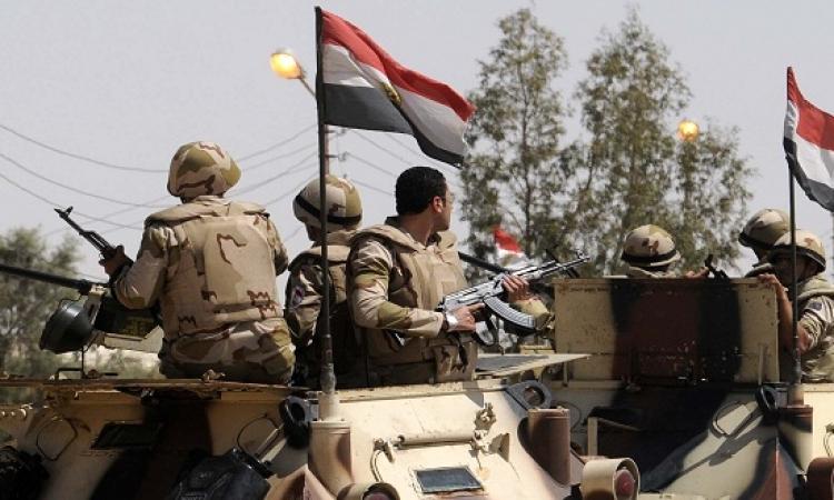 الجيش يقتل 3 مسلحين ويدمر 52 بؤرة إرهابية فى الشيخ زويد و رفح