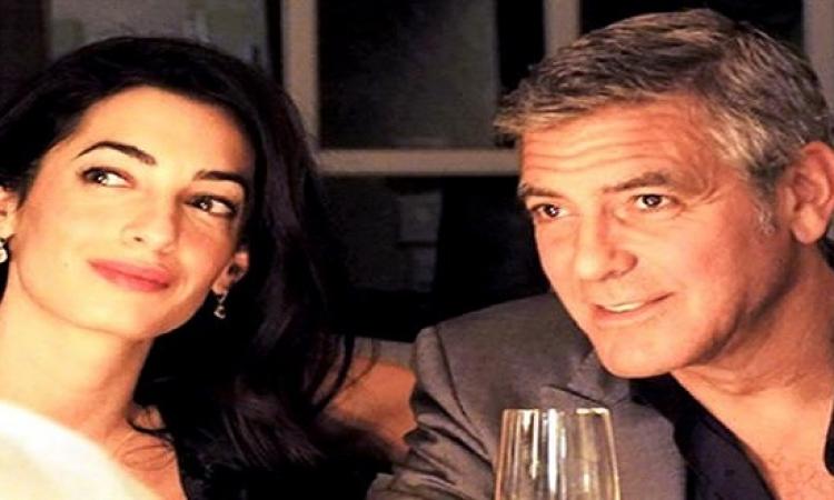 جورج كلوني وزوجته يفتتحان7مدارس بلبنان لتعليم اللاجئين السوريين