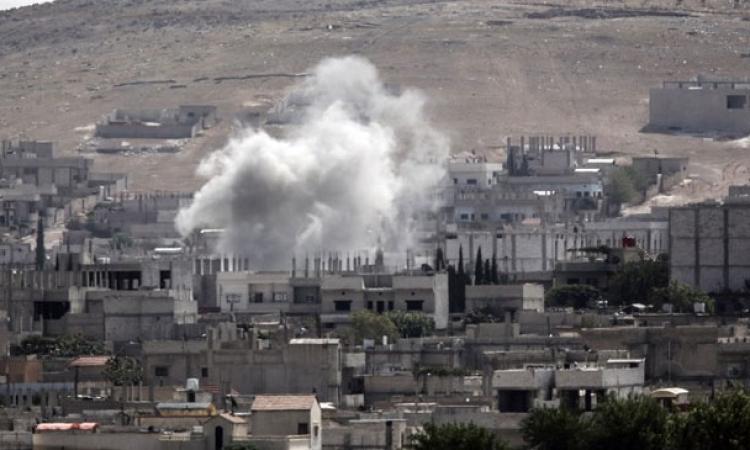 المقاومة الكردية في كوباني تدفع داعش إلى التراجع