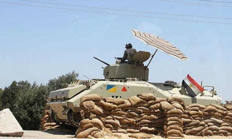 إصابة 3 جنود بالقوات المسلحة فى انقلاب سيارة جيش على الطريق الدولى
