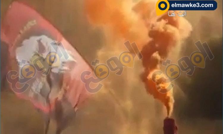 بالفيديو .. طلاب الإخوان يشعلون الألعاب النارية بالحرم الجامعي بالاسكندرية