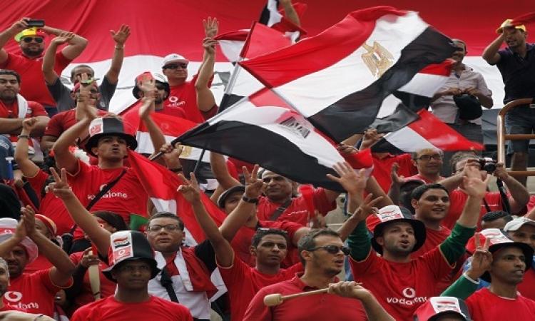 منتخب مصر يفوز على بتسوانا بثنائية نظيفة فى تصفيات الامم الافريقية