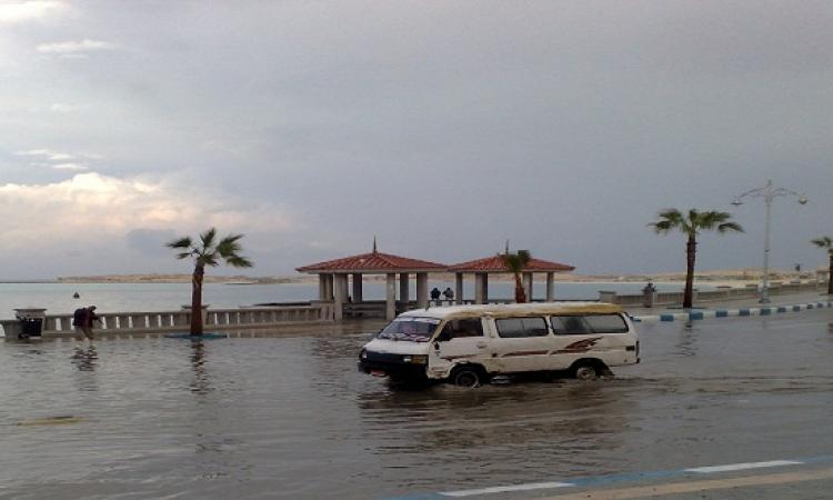 الأرصاد : استمرار هطول الأمطار على الأسكندرية 4 ساعات متواصلة