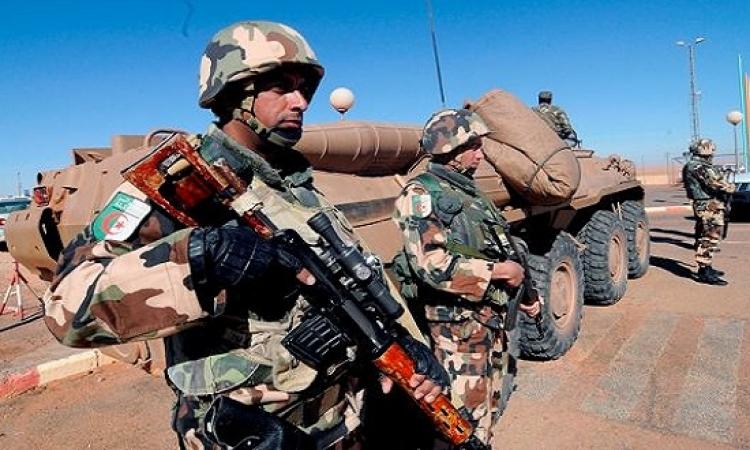 الجيش الجزائرى يرفع حالة الاستعداد