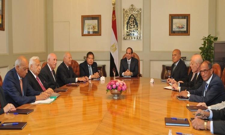 السيسي يلتقي اليوم المجلس الاستشارى لعلماء مصر للمرة الثانية منذ انشاءه