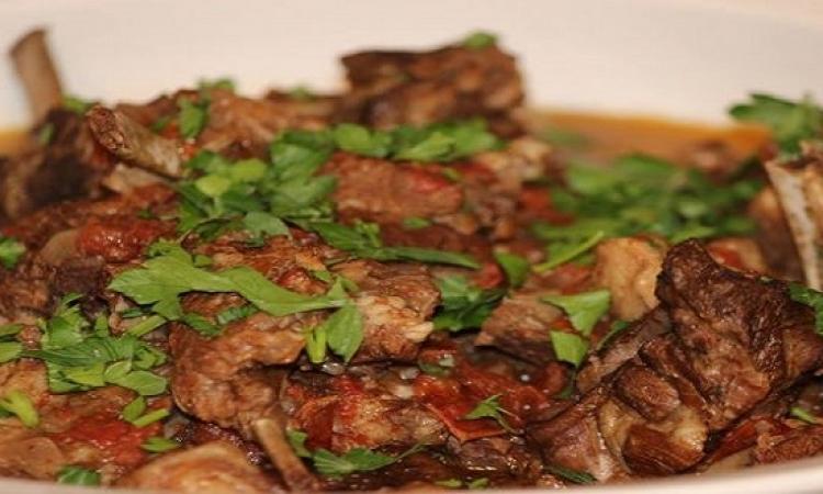 طبق اليوم .. اللحم المقلقل الحضرمي الخليجى