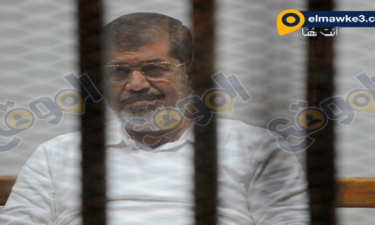 """تأجيل محاكمة مرسى و14 آخرين فى قضية """"أحداث الاتحادية"""" إلى 28 ديسمبر"""