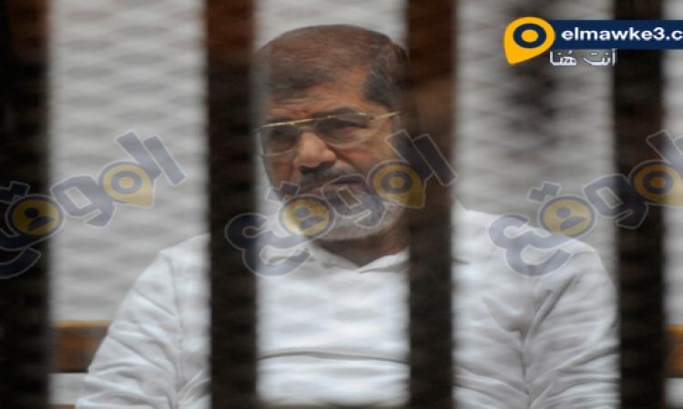 """تأجيل محاكمة مرسى وأعوانه فى """" الهروب الكبير """" لجلسة 27 ديسمبر المقبل"""
