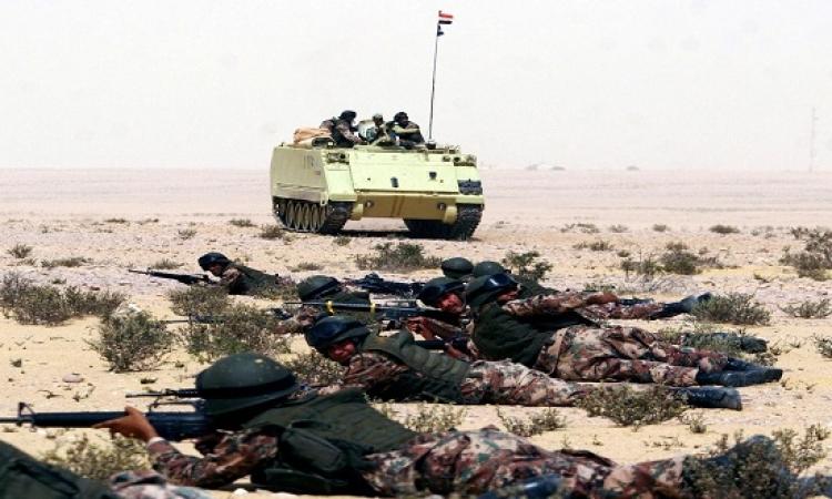 مقتل 11 إرهابيا وضبط اثنين فى عملية حق الشهيد بسيناء