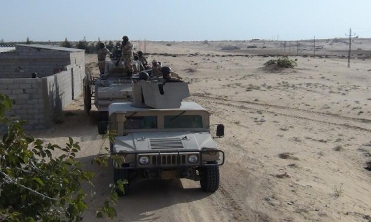 مقتل 6 إرهابيين والقبض على 12 مشتبها بهم فى حملات أمنية شمال سيناء