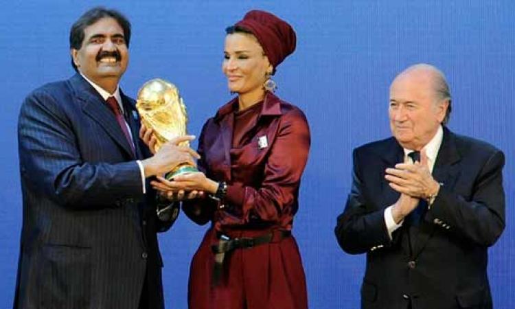 البريطانيين يرغبون في سحب تنظيم كأس العالم من قطر لعلاقتها بالارهاب