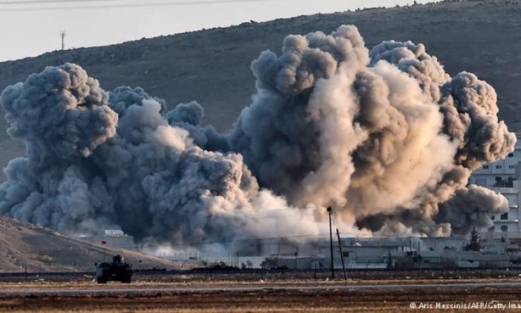 """طيران التحالف يشن 15 ضربة إلى مواقع """"داعش"""""""