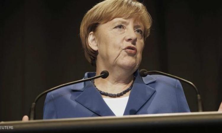 ميركل تنتقد التأخير في نظام إصلاح الحصص قى صندوق النقد الدولى