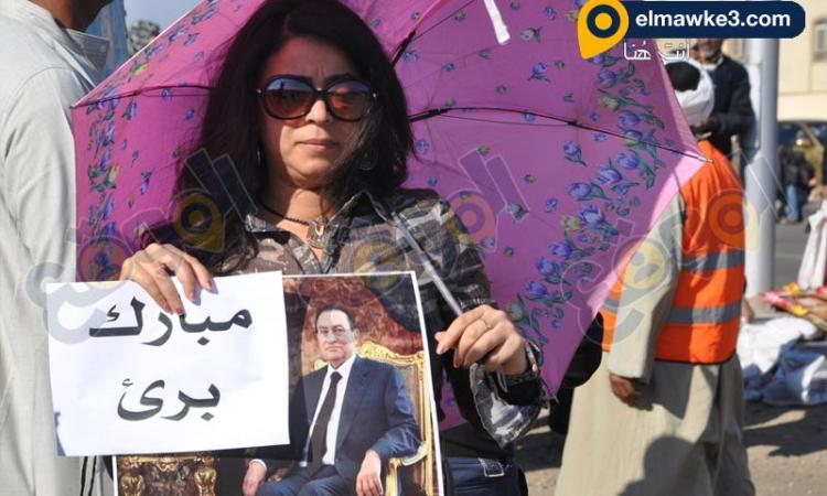 بالفيديو .. فرح انصار حسني مبارك بحكم البراءة في قضية القرن