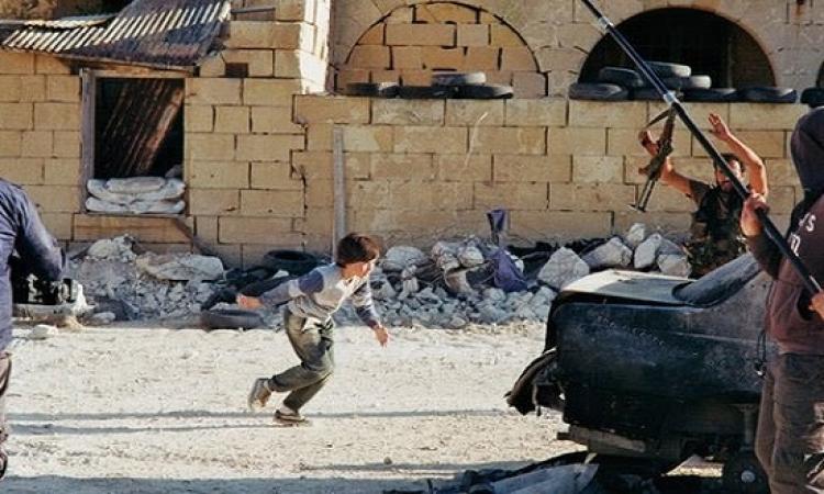 بالفيديو .. مقطع الطفل السوري الشجاع .. جزء من فيلم نرويجي !!