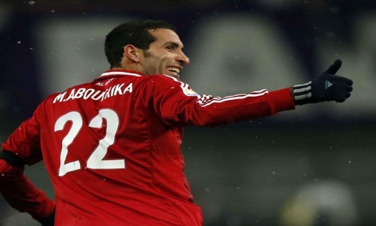 بالصور .. أبو تريكة يشارك فى مباراة نجوم العالم المسلمين