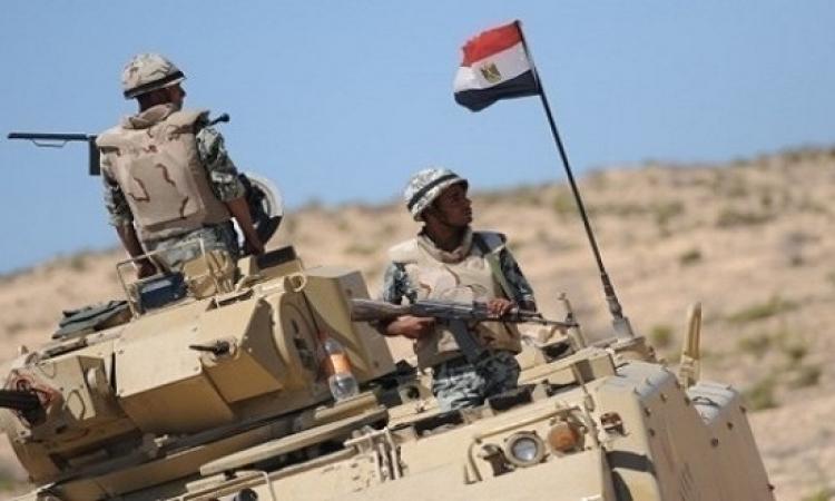 المتحدث العسكرى : مقتل 19 تكفيرياً فى غارات جوية بشمال سيناء