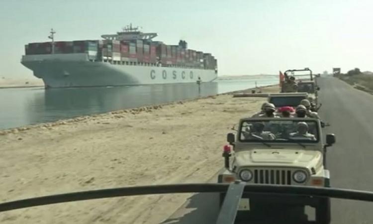 تكثيف أمني بالمدخل الجنوبي لقناة السويس .. والهليكوبتر تحلق في سماء المحافظة