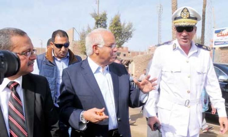 جلال سعيد: افتتاح محورمؤسسه الزكاه نهايه نوفمبر