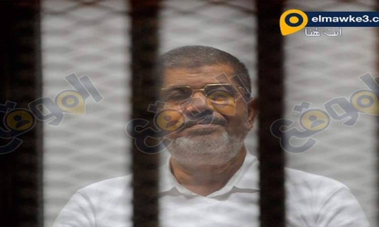 """بالصور .. جلسة محاكمة مرسي و35 قياديا إخوانيا في """"التخابر الكبرى"""""""