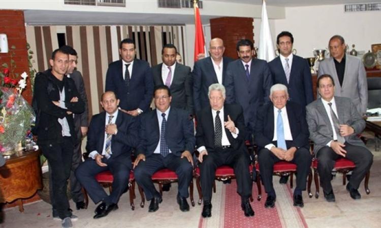 الزمالك يستأنف اجتماعاته برئاسة مرتضى منصور