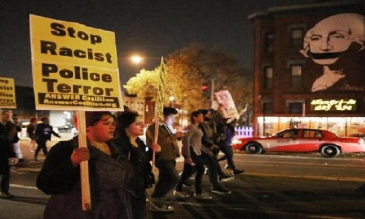 تجدد اعمال الشغب فى مدينة فيرجسون الأمريكية بعد براءة شرطى قتل مراهق اسود