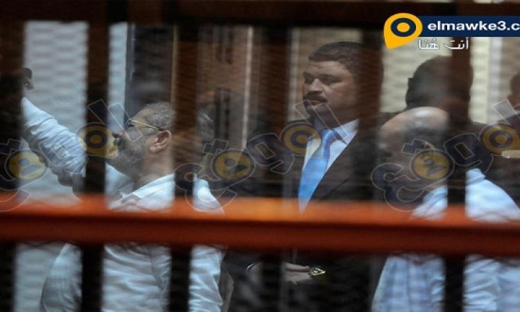 بالصور .. جلسة محاكمة محمد مرسي و35 آخرين في قضية التخابر الكبرى