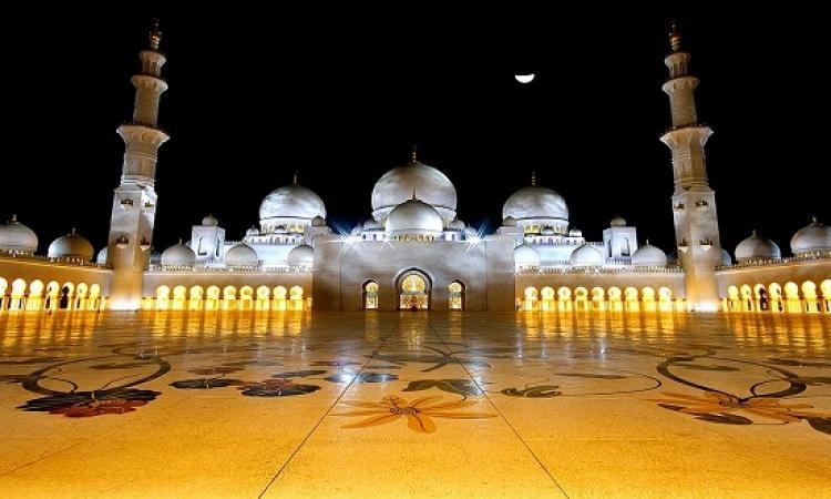 جولة فى جامع الشيخ زايد بابو ظبى