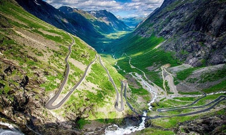 بالصور .. اروع واخطر الطرق على مستوى العالم