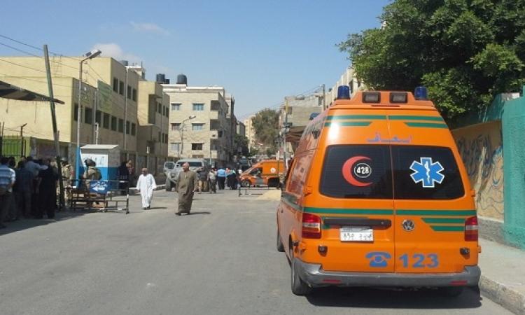 إصابة أمين شرطة ومجند فى هجوم مسلح على نقطة شرطة الورديان باﻷسكندرية