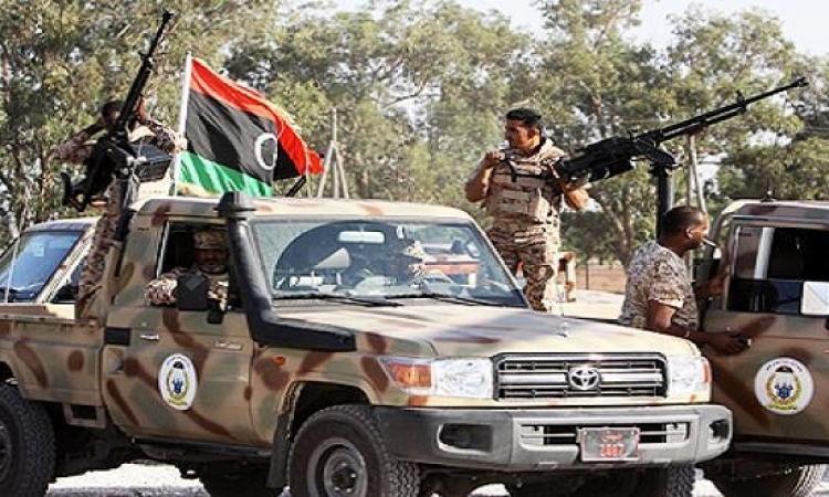 قوات الجيش الليبى تسقط 8 من عناصر داعش