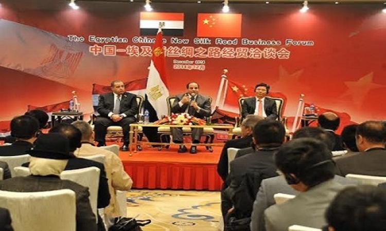 السيسى يبحث مع مجموعة هواوى الصينية للاتصالات توسيع أعمالها فى مصر