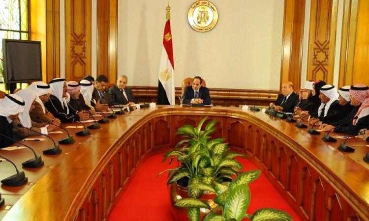 السيسي يقرر خفض عدد ساعات حظر التجول بشمال سيناء