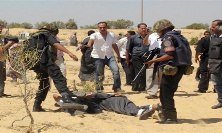 ضبط 24 مشتبها به وتدمير 3 بؤر إرهابية خلال حملة أمنية بشمال سيناء