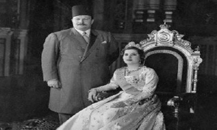 بالفيديو .. حفل زفاف الملك فاروق والملكة ناريمان