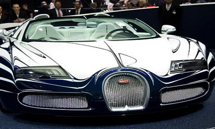 سيارة واحدة فقط .. سيارة من الذهب الأبيض
