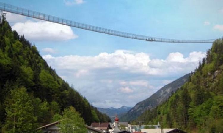 جسر تيرول يدخل موسوعة جينس للأرقام القياسية