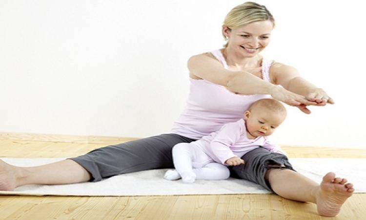 كيف تتخلصين من الوزن الزائد بعد الولادة
