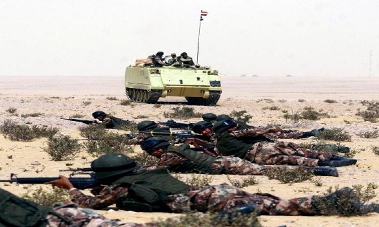 المتحدث العسكرى يعلن مقتل عنصر إرهابى شديد الخطورة فى سيناء