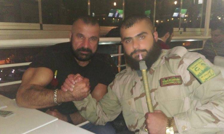 أصابه الفنان السورى فهد نجار بطلق نارى  يؤدى بحياته