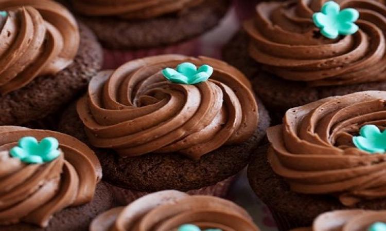 حلو اليوم .. كب كيك بالشوكولاتة