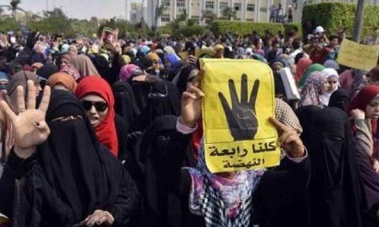 قوات الأمن تفض مظاهرة لطالبات الإخوان بجامعة الأزهر