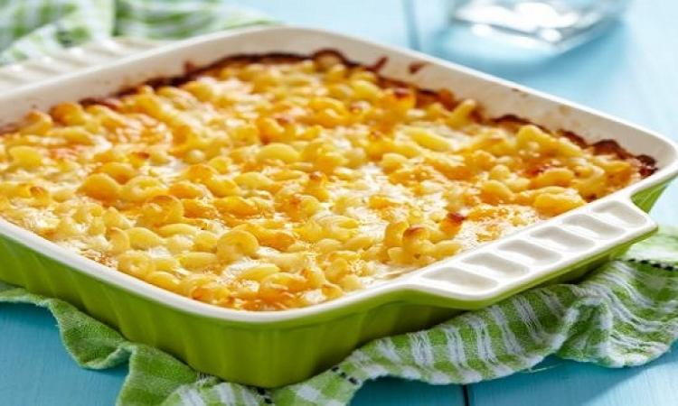 طبق اليوم .. معكرونة بالجبنة